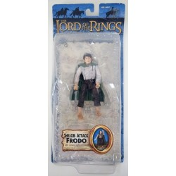Pippin Joyeux Le Seigneur des Anneaux ToyBiz le retour du roi 3 figure Lot Comme neuf on Card Frodon